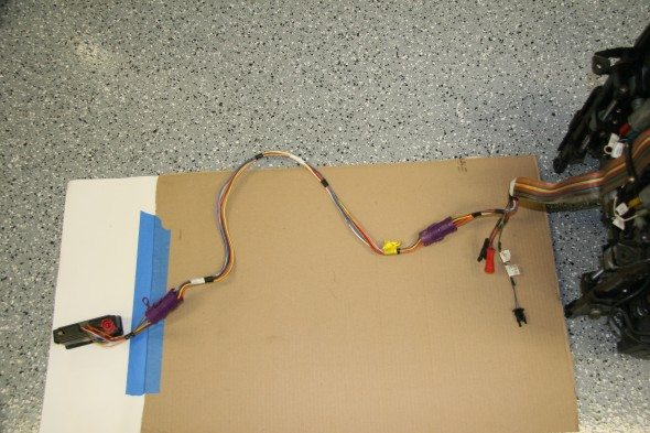 Seat Wiring Harness and Switches