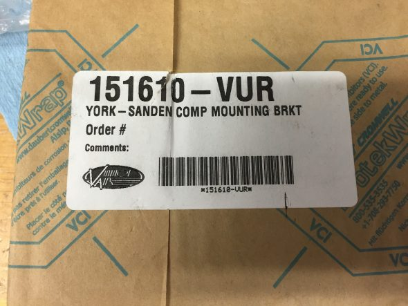 Vintage Air York to Sanden Mounting Bracket 151610-VUR