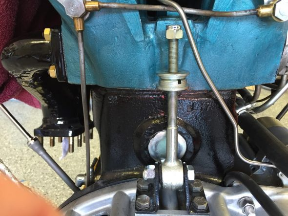 Rear Engine Stabiliser Mounted
