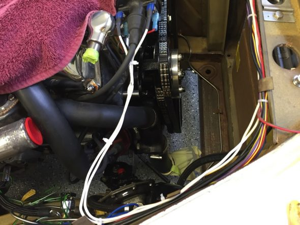 Coil wiring Installed Tach to - terminal FP6 to + terminal