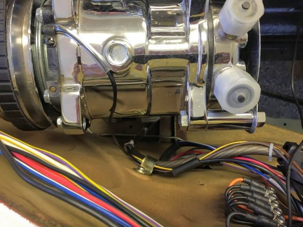Compressor Wiring to Valance